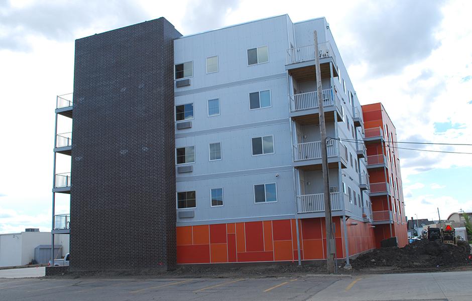 8th Street Flats Exterior D