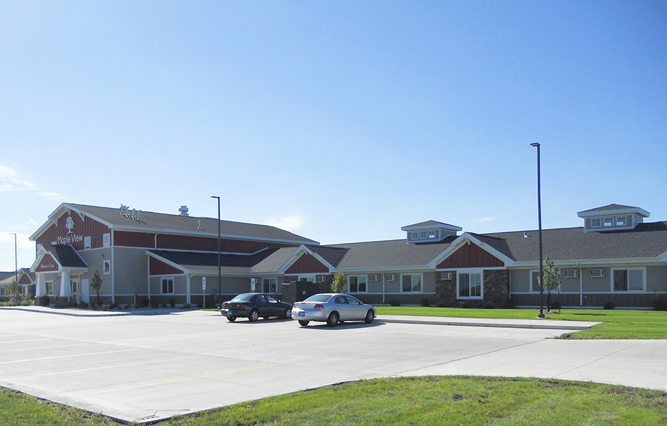 Maple View Memory Care Exterior B