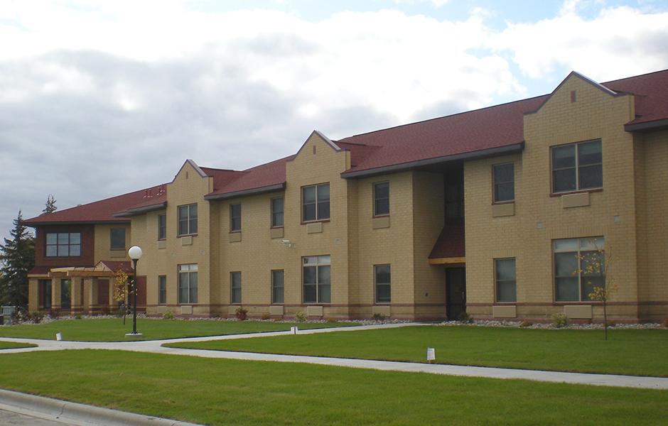 Evergreen Hall Exterior C
