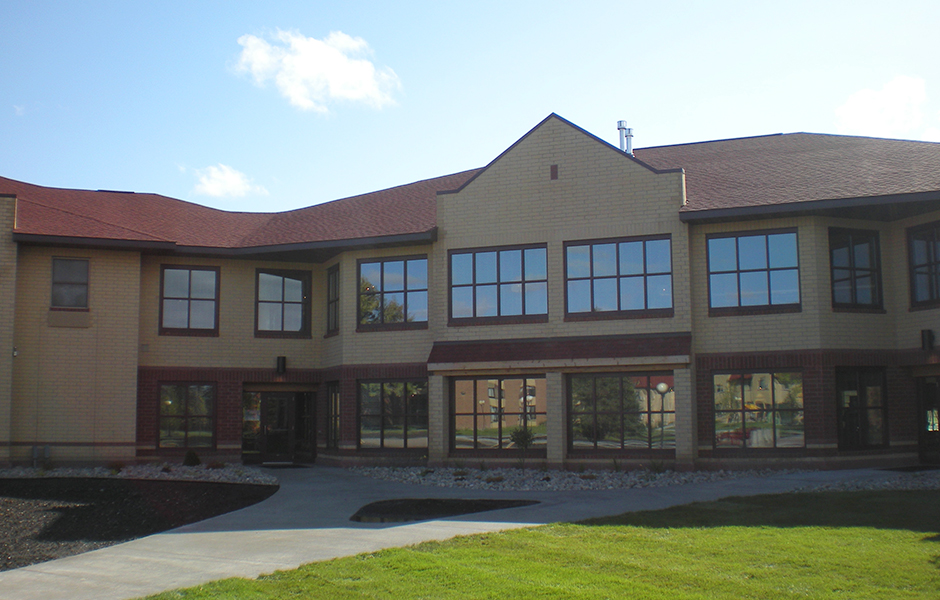 Evergreen Hall Exterior A