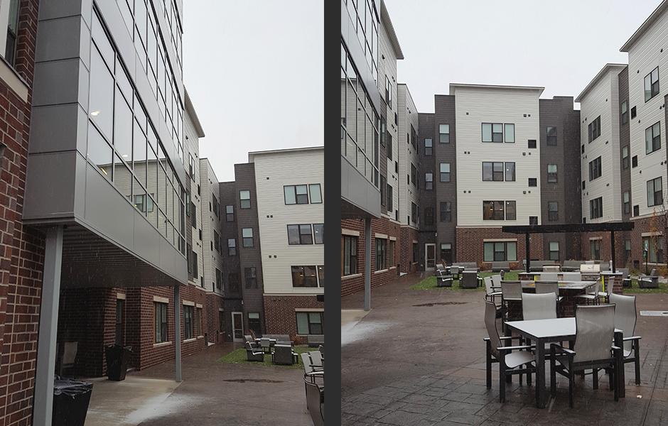 The Bridges Student Apartments Exterior E