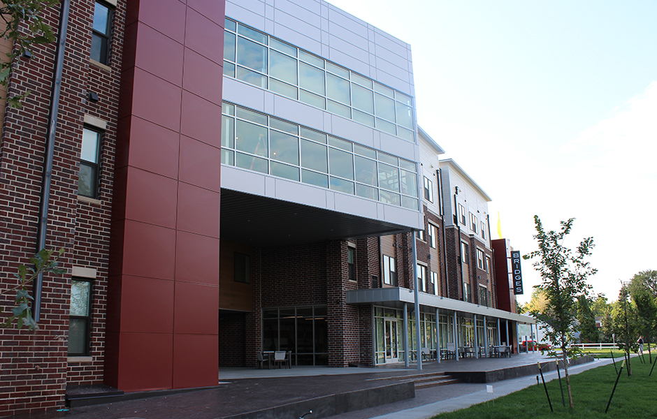 The Bridges Student Apartments Exterior B