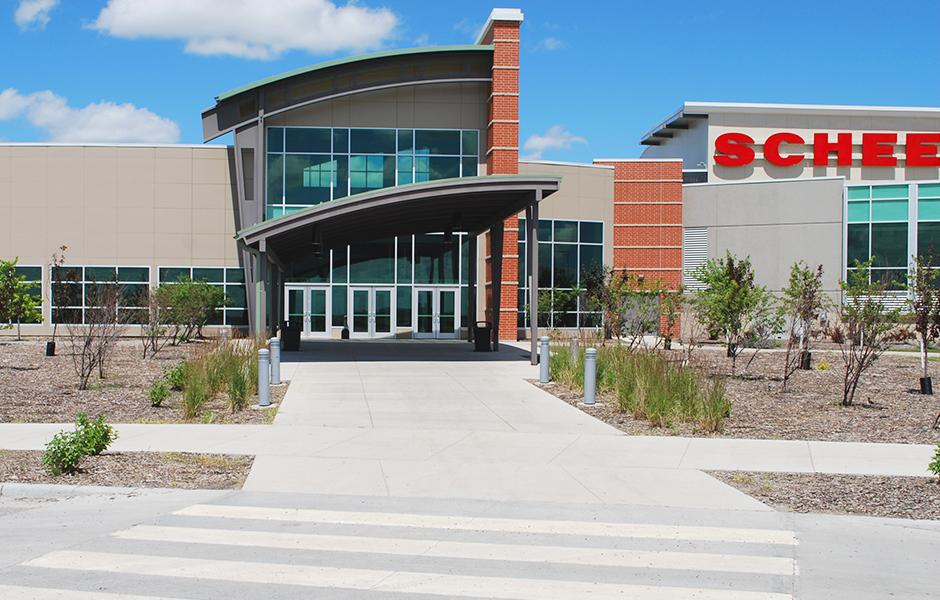Scheels Arena Exterior B
