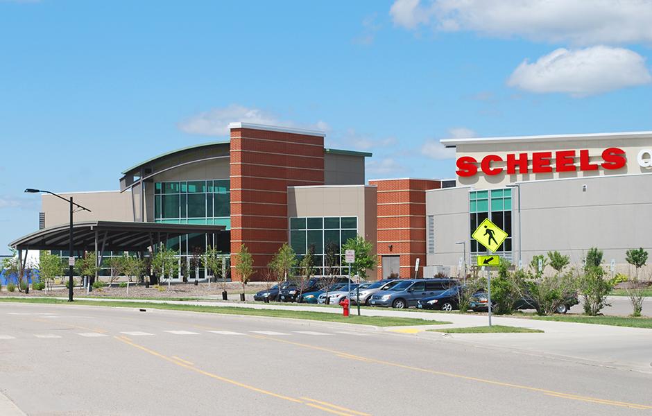Scheels Arena Exterior A