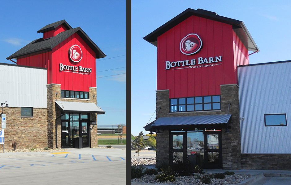 Bottle Barn Exterior B