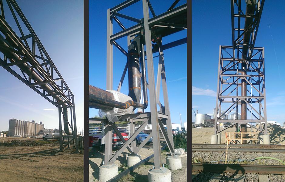 GRE Metering Pipe Racks Exterior C
