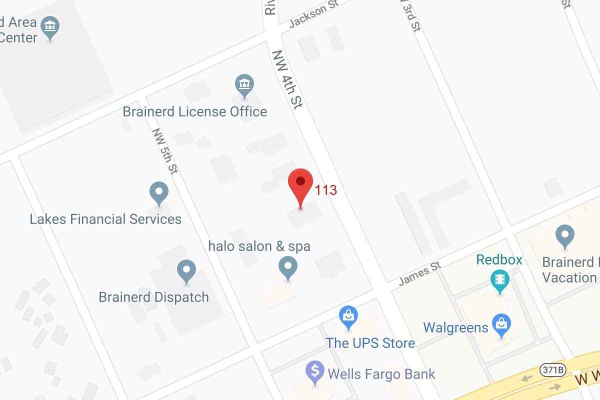 Brainerd Office Google Map