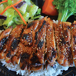 Picture of Tender, Savory and sweet teriyaki chicken