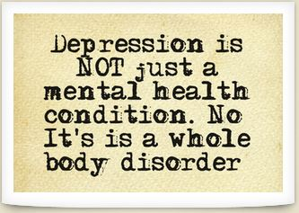 A common wrong assumption people make is assuming that depression is just a mental health condition. This couldn't be further from the truth. This is why many fail to make sustainable headway in their attempts to mannage their depression better?. But, how does knowing this help our attempts to recover? Read on...