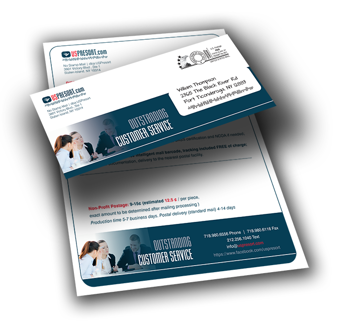 Direct Mail Personalized Letters