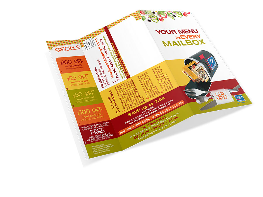 menu mailing new york