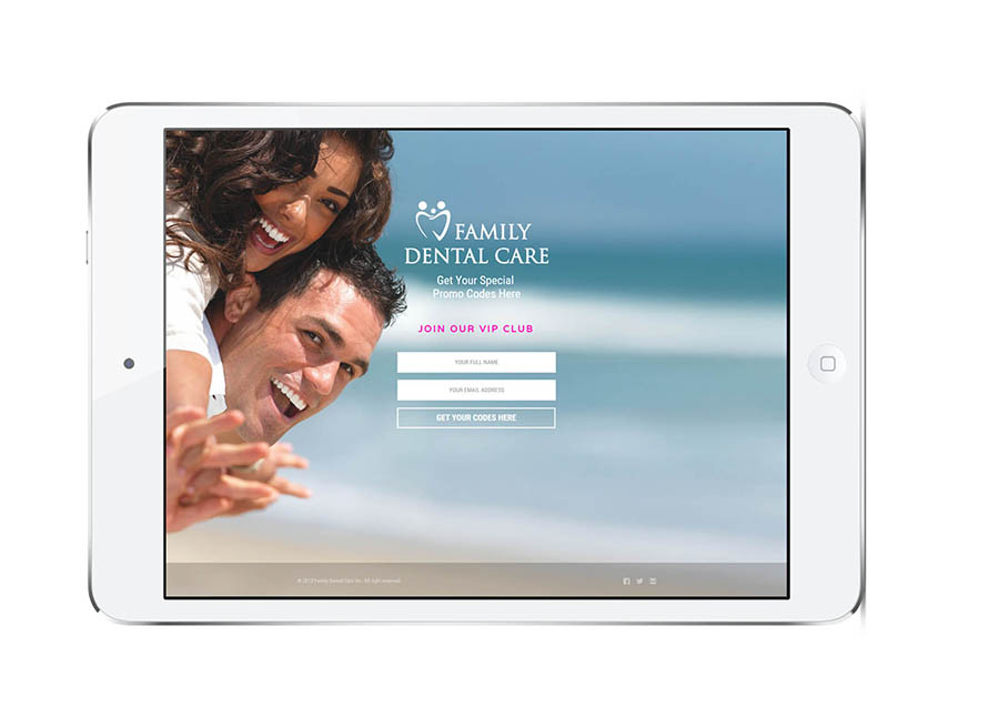 Dental practice landing page nyc
