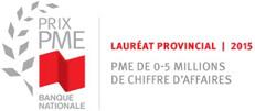 Logo Prix PME de la Banque Nationale 2015