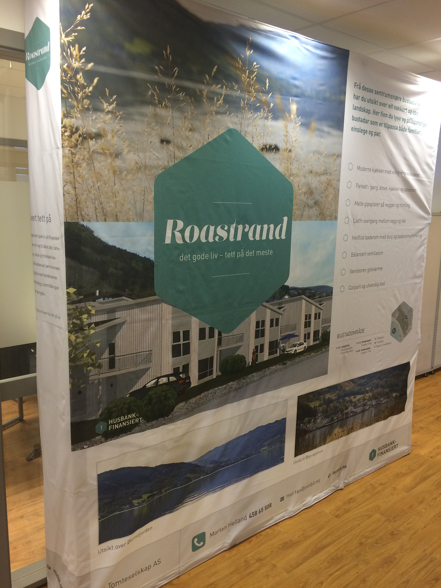 Bilete av stand for Roastrand.
