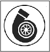 Washable turbocharger and panel filters icon