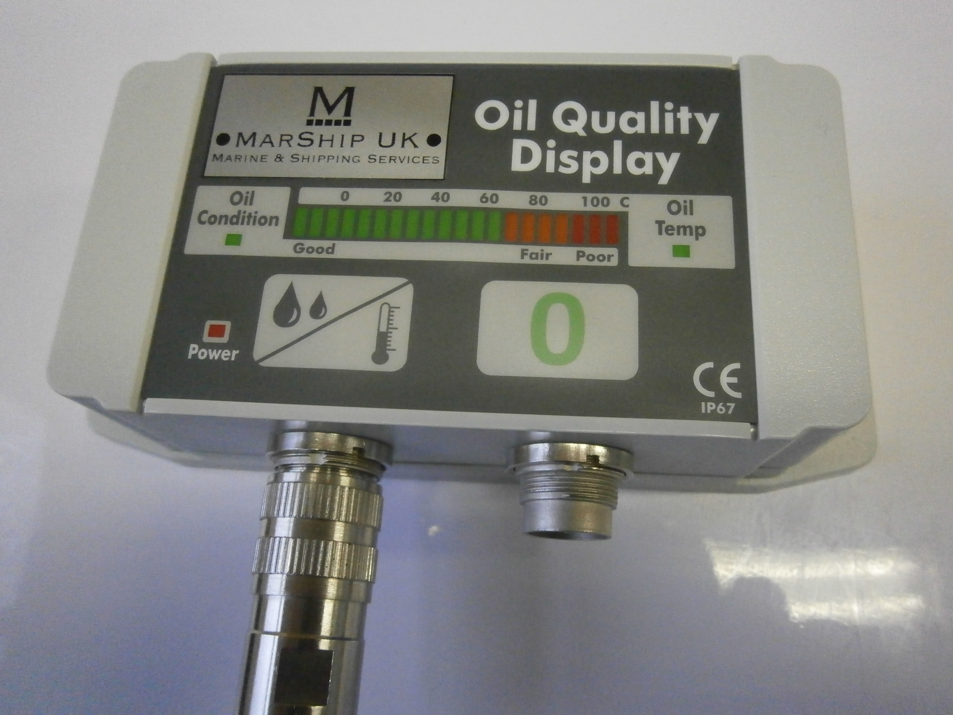 display shoeing oil quality