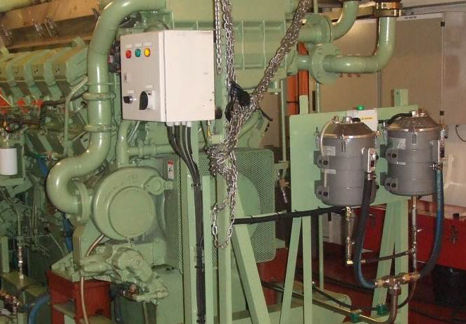 EDI Oil cleaning system