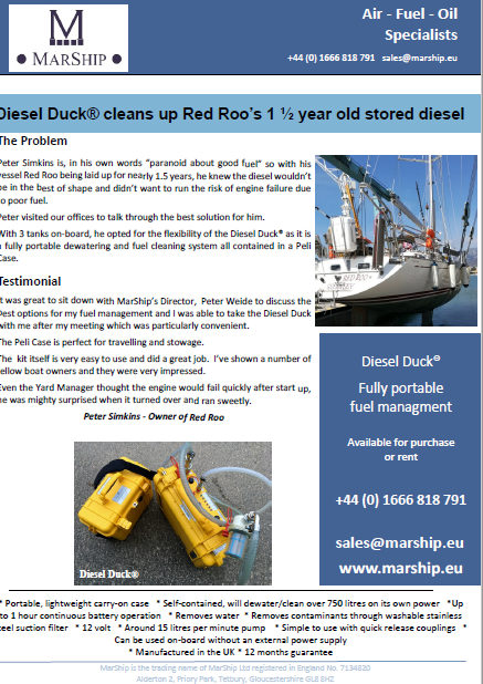 Diesel Duck Customer Story