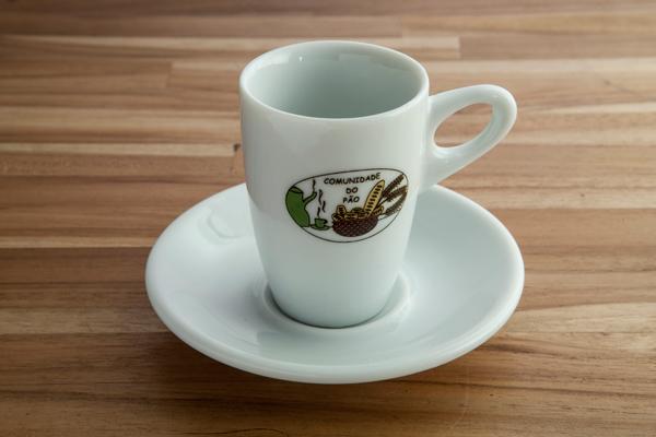 Xícara de café milão 75ml