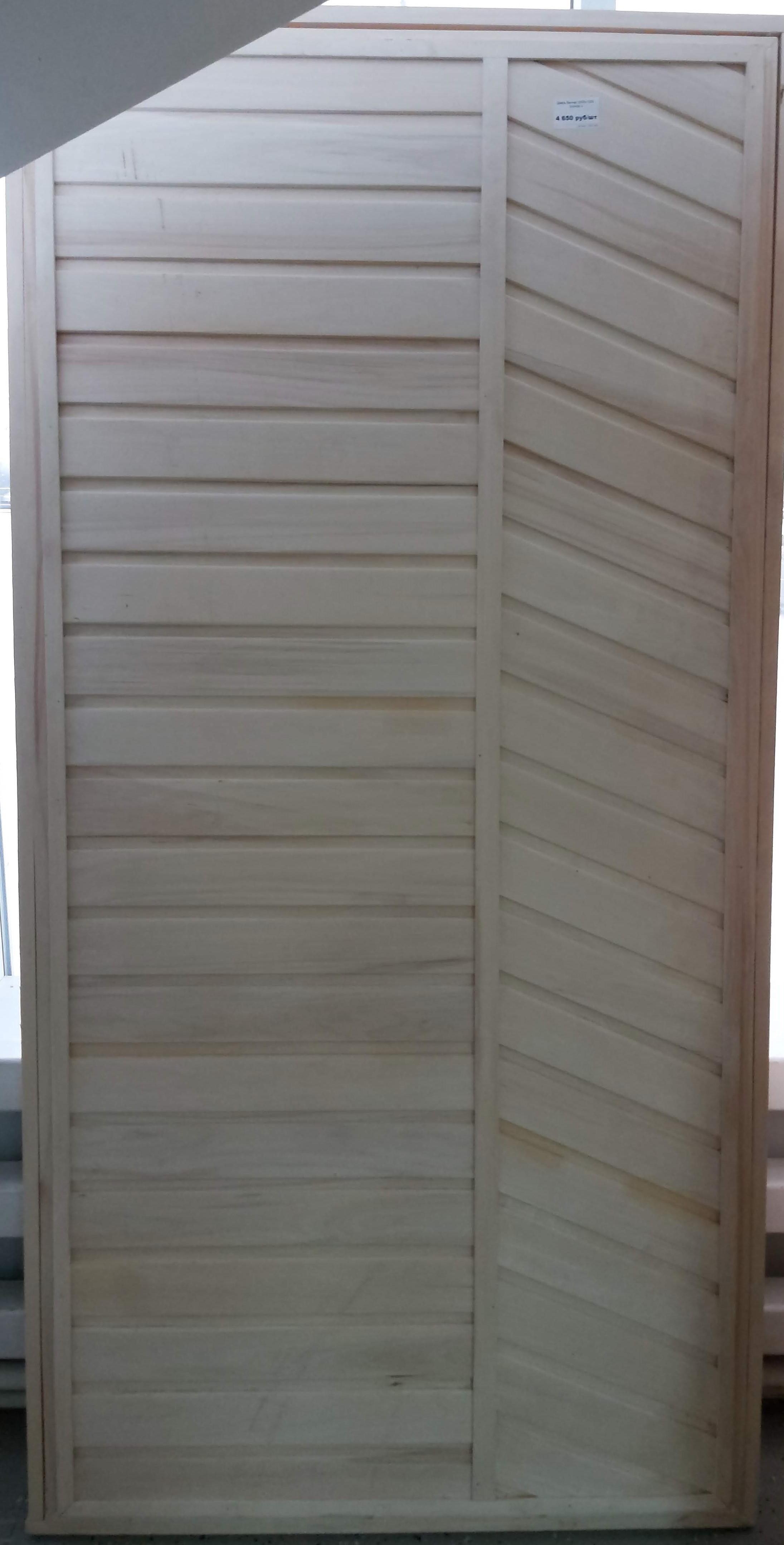 Дверные блоки из липы и осины