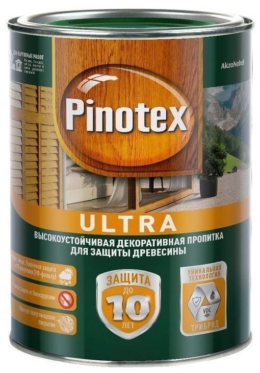 Pinotex Ultra пропитка, цена - купить в Москве. | kraski-zdes.ru