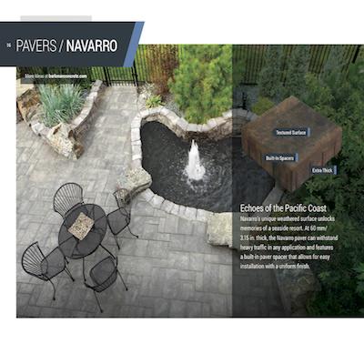 Barkman Navaro Paving stone winnipeg