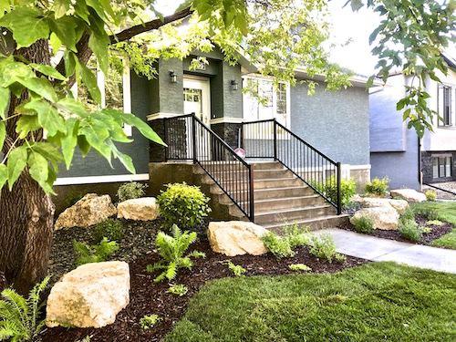 Front yard landscaping winnipeg