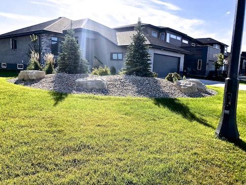 Ridgewood winnipeg landscaping