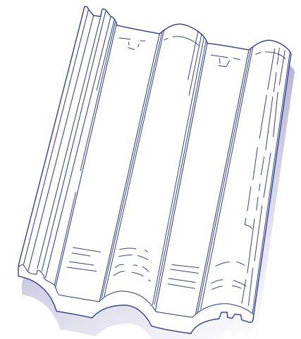 Tuile Double Romane En Plastique Solaire