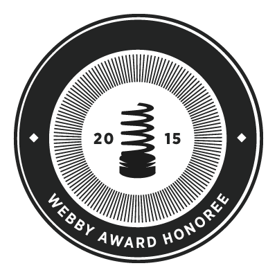Don't mess with Texas Report a Litterer App Webby Award Honoree Logo