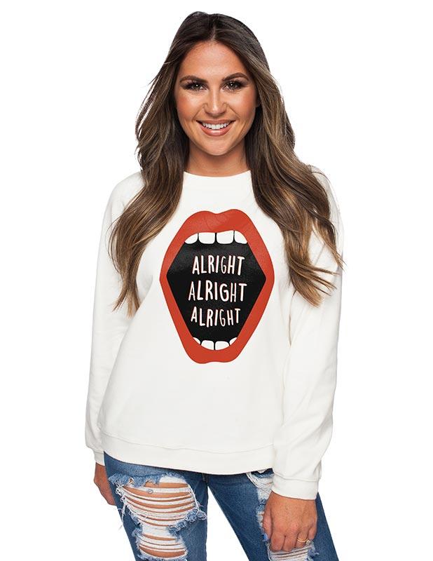 Alright Alright Alright T-Shirt Design