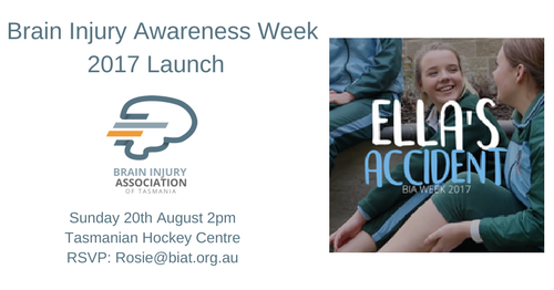 Launch of Brain Injury Awareness Week (21st-27th August 2017)