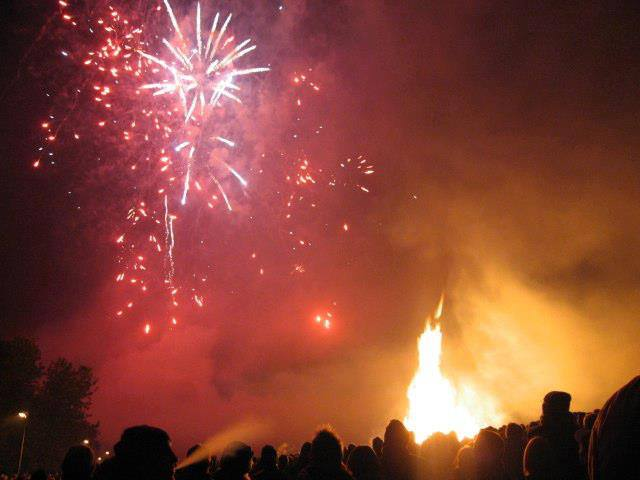 Annual Charity Fireworks Night & Candlelit Procession 2018