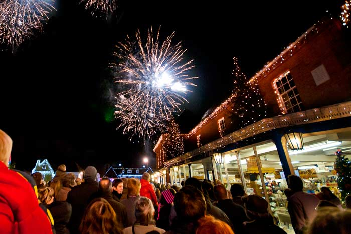Local Christmas Lights Switch On 2018