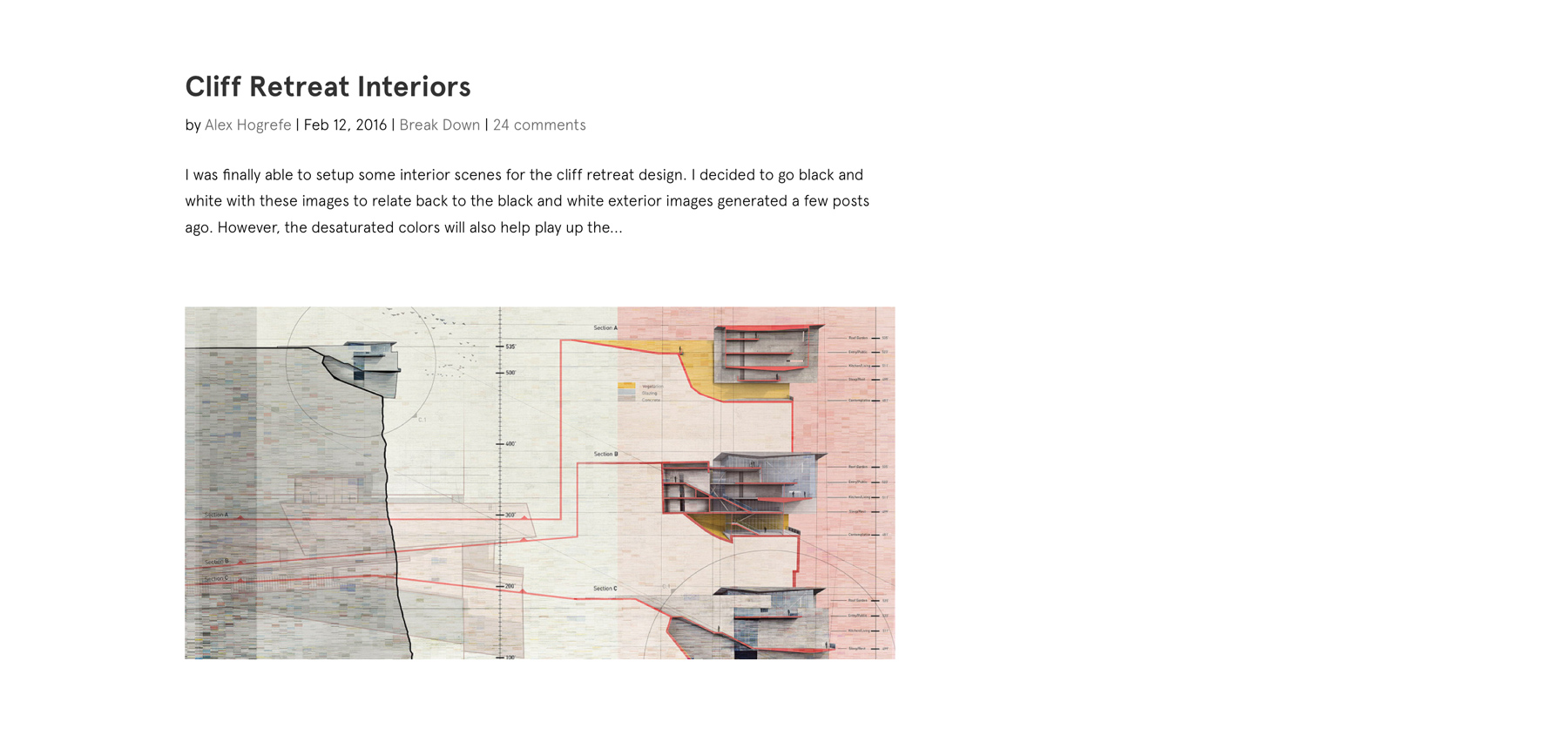Visualizing Architecture
