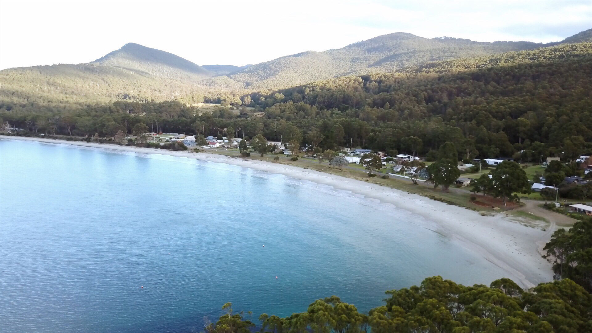 Bruny Footage in May