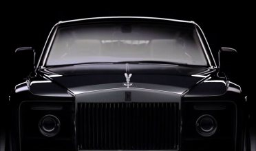 One of the largest grilles on a modern car, the Sweptail is a beast. Picture: Rolls-Royce