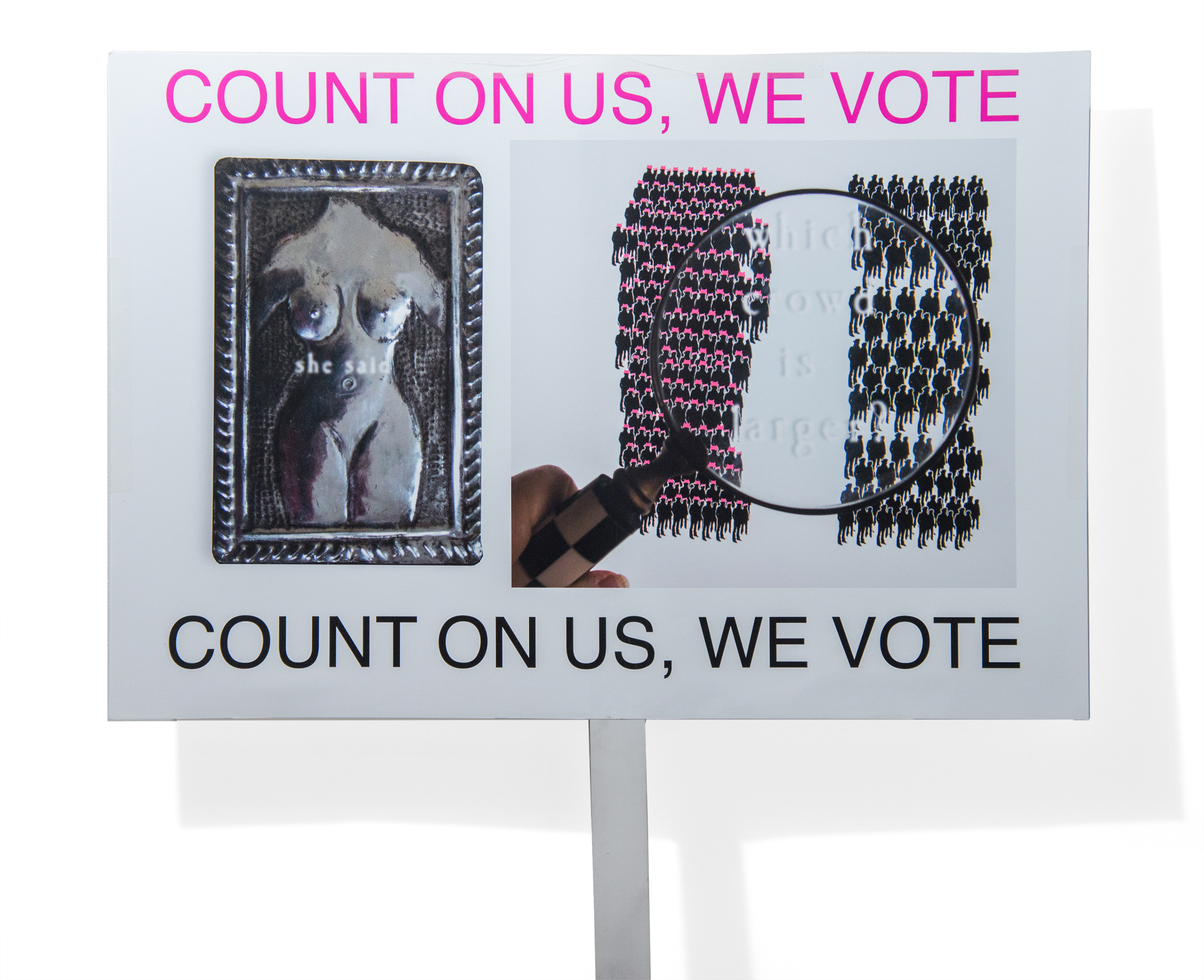 Count on us, we vote