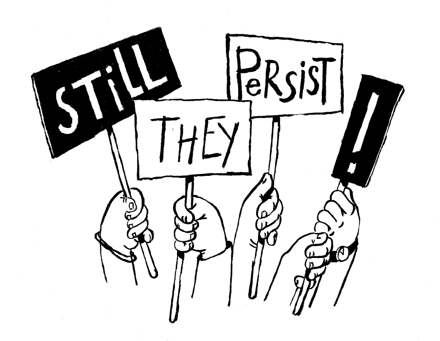 Still They Persist Logo - CHECK