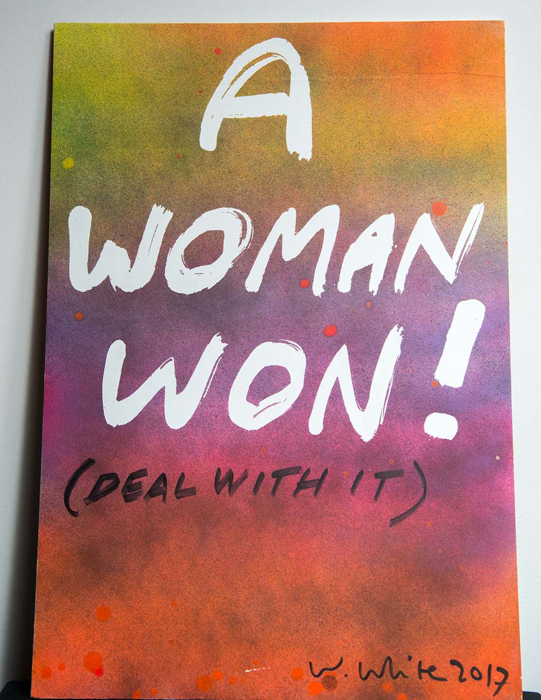A Woman Won! (Deal With It)