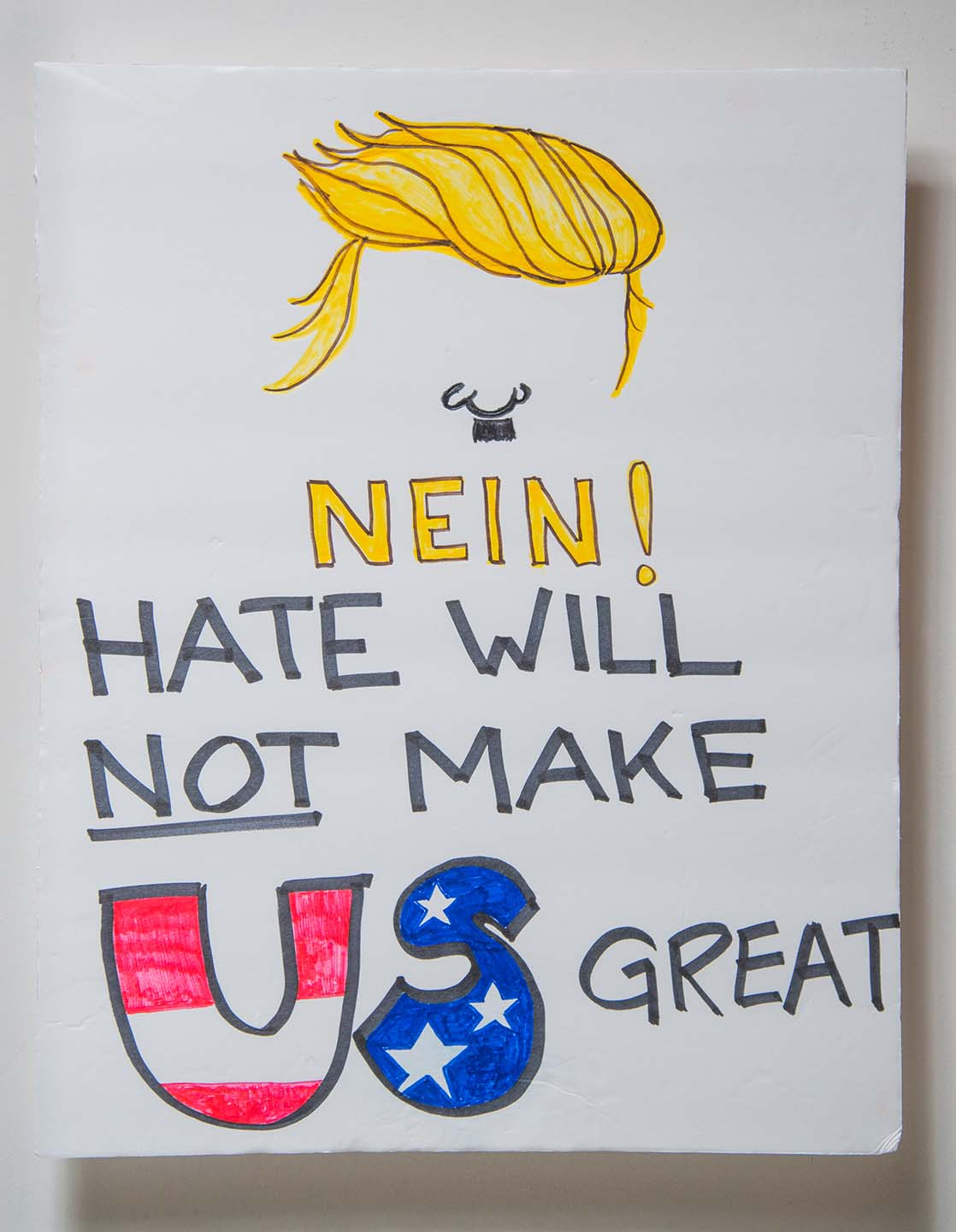Nein, Hate Will Not Make Us Great