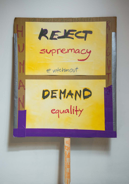 Reject Supremacy #Votehimout