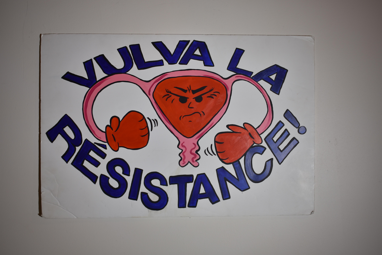 Vulva la resistance / resist persist feminist
