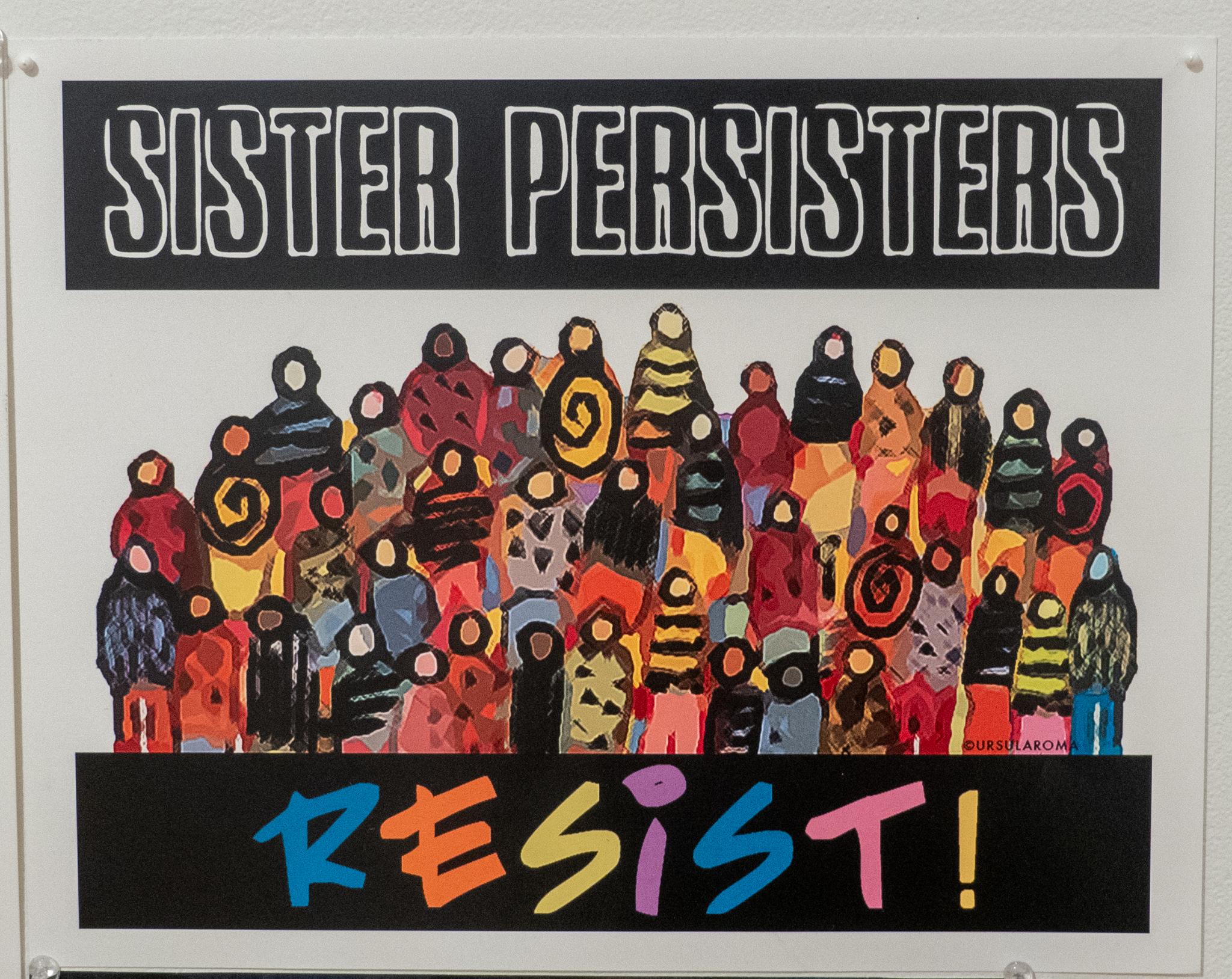 Sister Persisters RESIST!