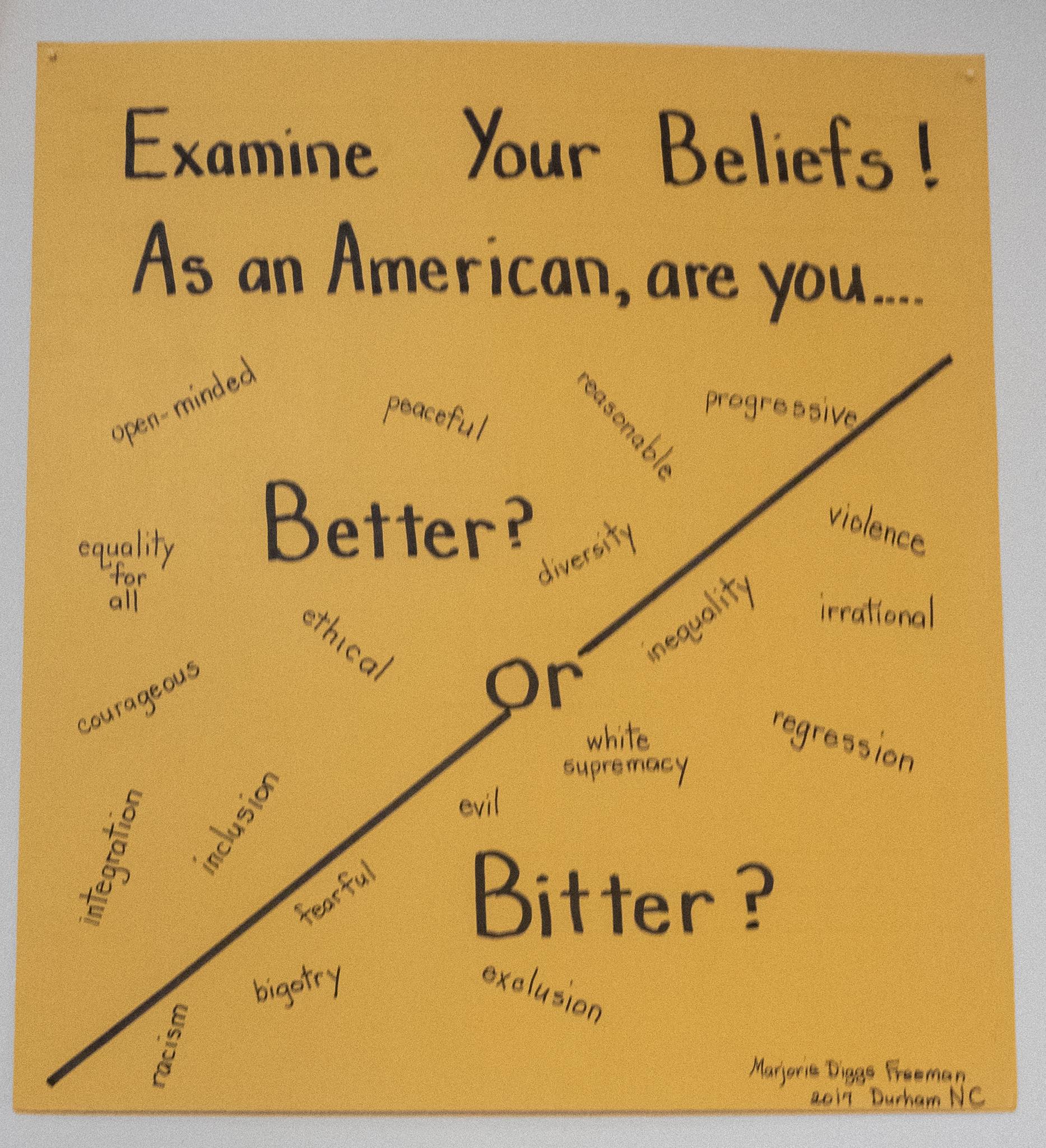 Examine Your Beliefs