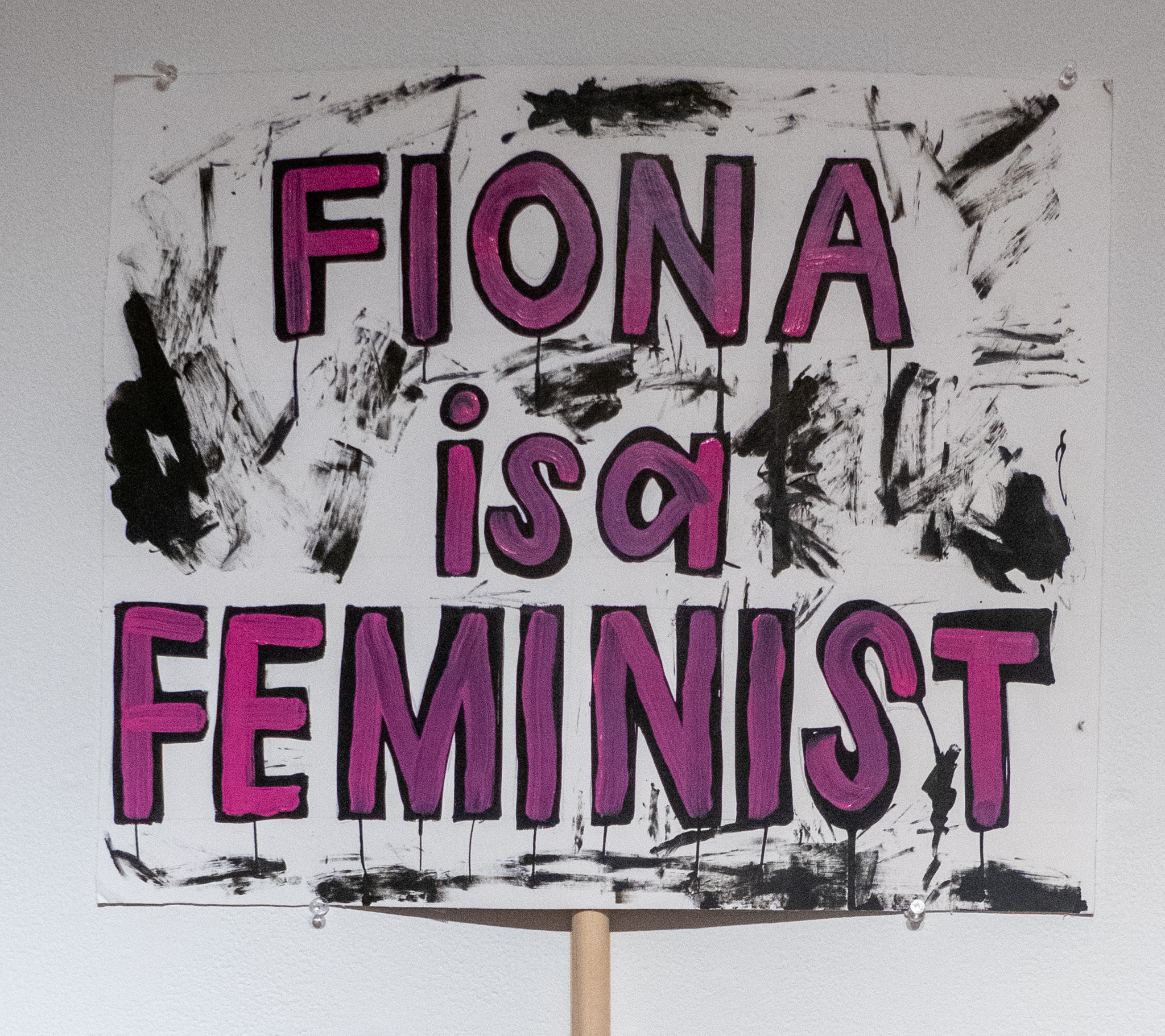 Fiona is a Feminist