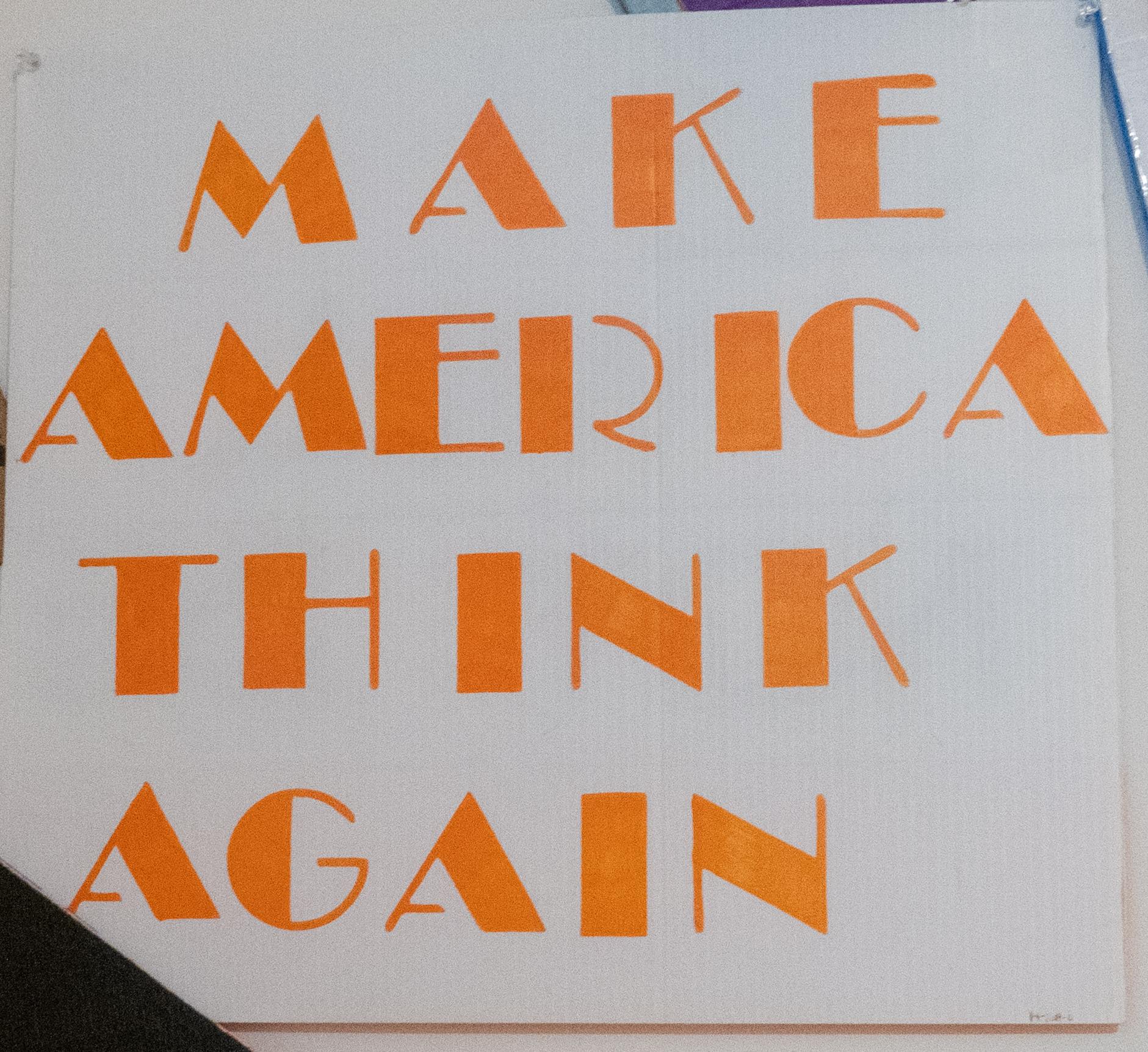 Make America Think Again