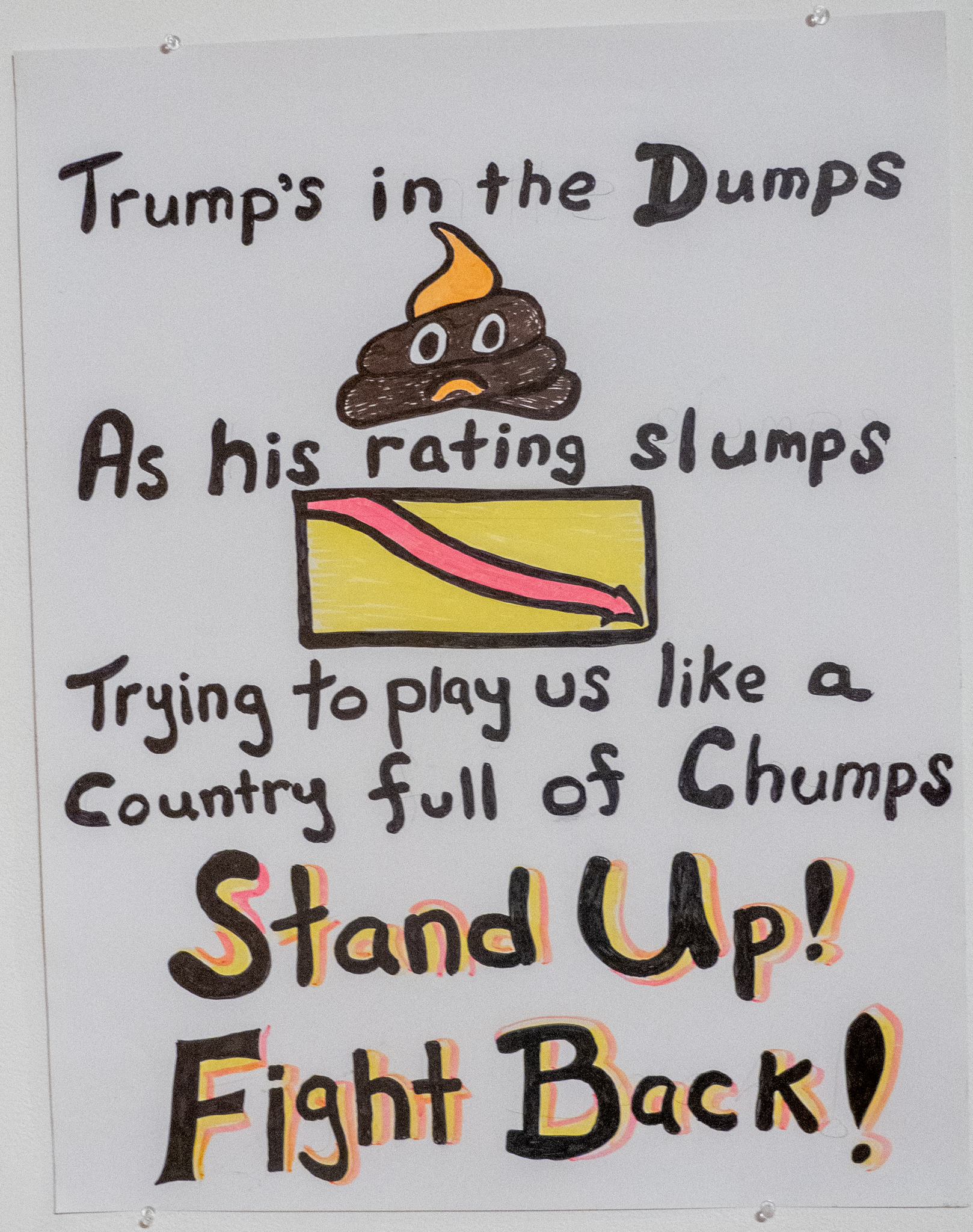 Trump's In The Dumps