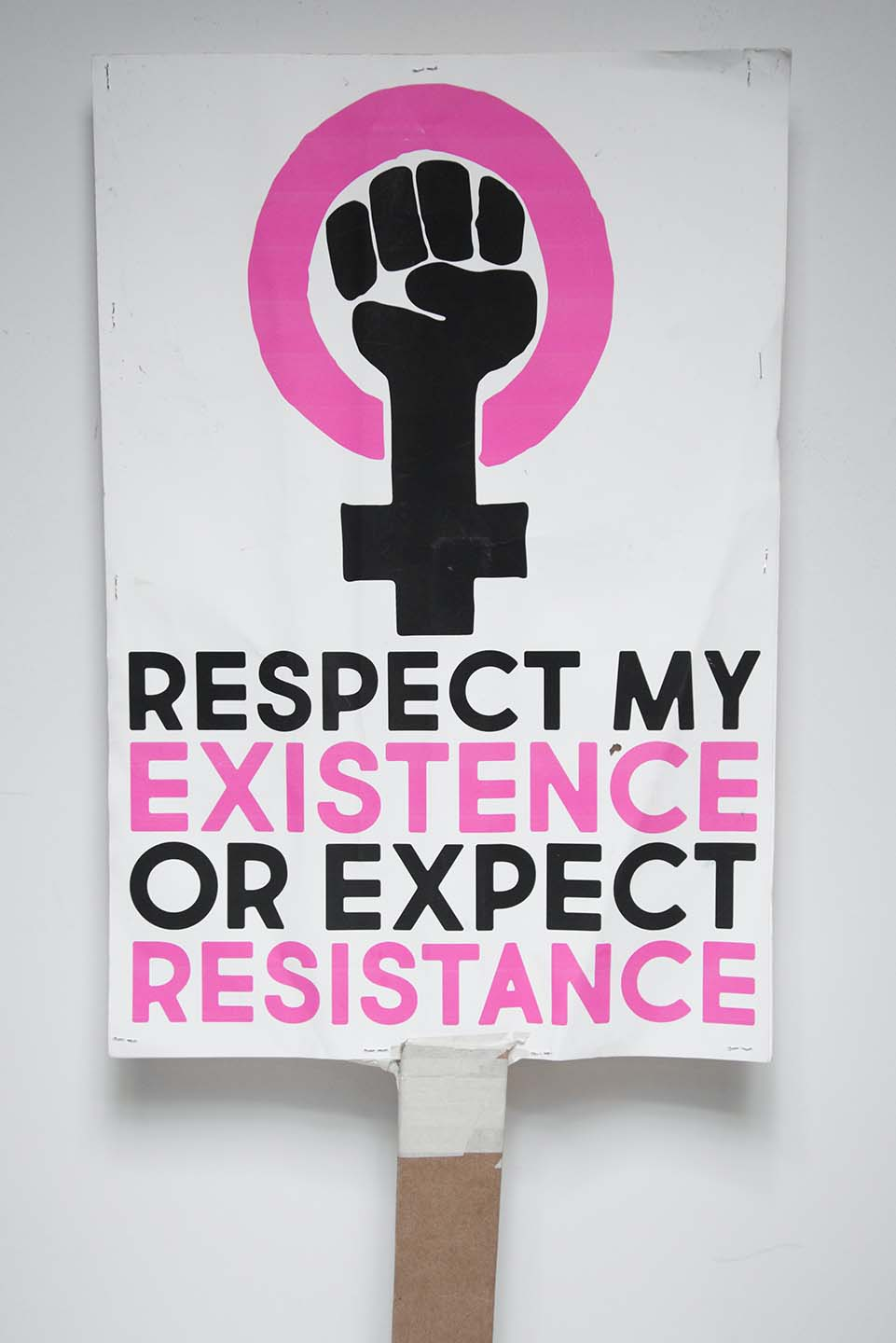 Respect My Existence or Expect Resistance