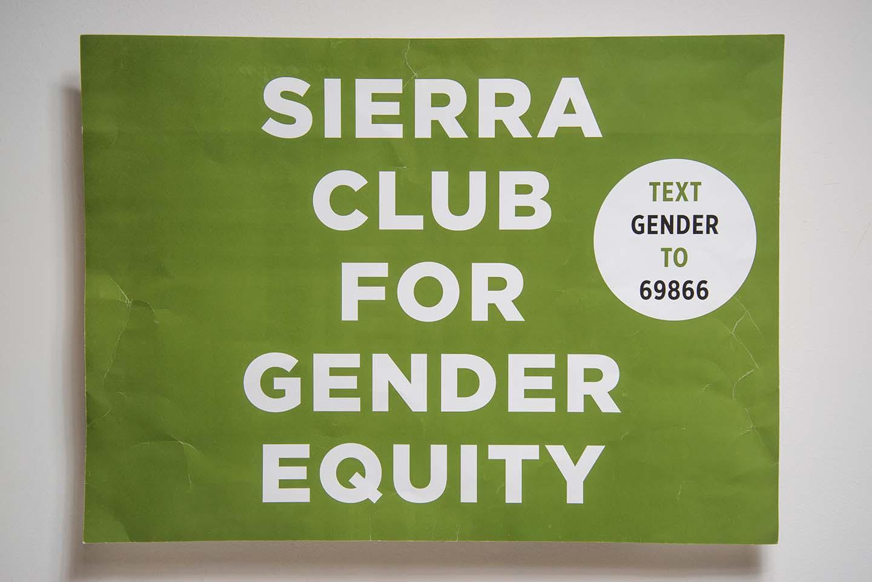 Sierra Club for Gender Equity